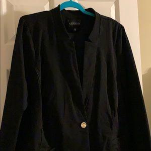 Eloquii Black Business Suit 26 Blazer & 28 Skirt